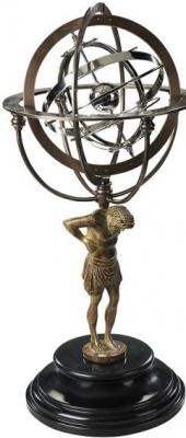 Authentic Models 18th C. Atlas Armillary