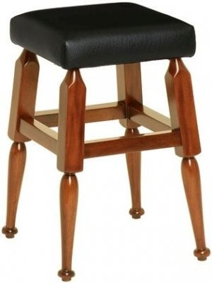Authentic Models Black Mayan Low Barstool