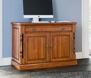 Baumhaus La Reine Mahogany Hidden Home Office Desk