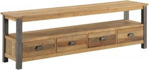 Baumhaus Urban Elegance Reclaimed Wood Large Widescreen TV Cabinet