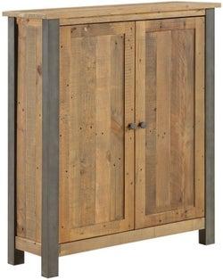 Baumhaus Urban Elegance Reclaimed Wood Small Shoe Storage Cupboard