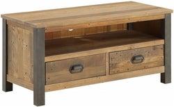 Baumhaus Urban Elegance Reclaimed Wood Widescreen TV Cabinet
