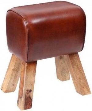 Leather Pommel Horse Stool