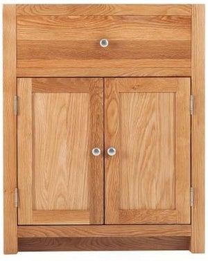 Handmade Oak 2 Door Sink Cabinet