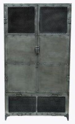 Industrial 2 Door Metal Cabinet