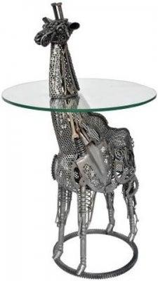 Wrought Iron Giraffe Bar Table