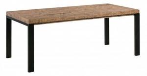 Urban Loft Reclaimed Pine Industrial Dining Table