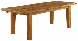 Vancouver Premium Solid Oak Rectangular Extending Dining Table
