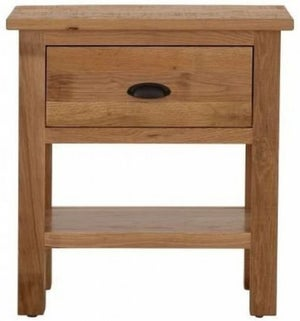 Vancouver Sawn Oak 1 Drawer Console Table