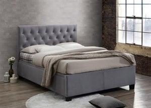 Birlea Cologne Grey Fabric Ottoman Bed