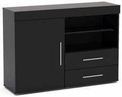 Birlea Edgeware Black Sideboard