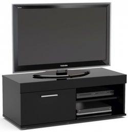 Birlea Edgeware Black Small TV Unit