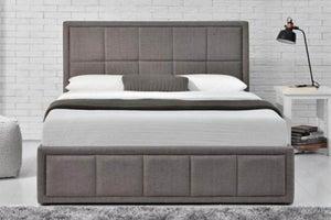 Birlea Hannover Grey Fabric Ottoman Bed