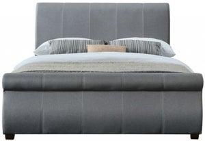 Birlea Lancaster Grey Fabric Bed