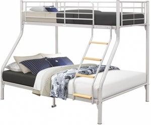 Birlea Nexus Silver Bunk Bed