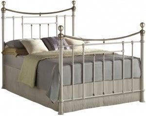 Birlea Bronte Cream Metal Bed