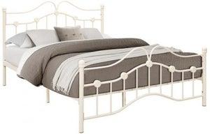 Birlea Canterbury Cream Metal Bed