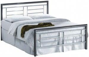Birlea Montana Chrome and Nickel Metal Bed