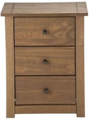 Birlea Santiago Pine Bedside Cabinet