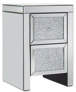 Birlea Vienna Mirrored Bedside Cabinet