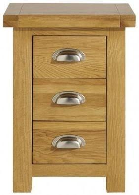 Birlea Woburn Oak Bedside Cabinet