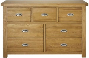 Birlea Woburn Oak 4+3 Drawer Chest