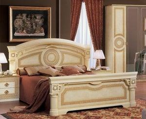 Camel Aida Ivory Italian Bed
