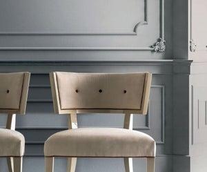 Camel Altea Night High Gloss Italian Kleo Nabukk Bedroom Chair