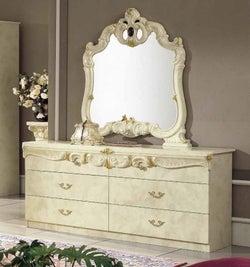 Camel Barocco Ivory Italian Double Dresser