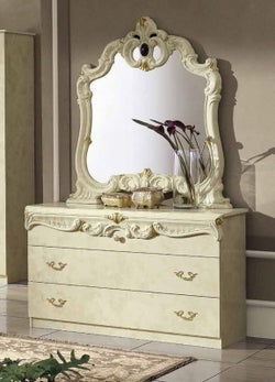 Camel Barocco Ivory Italian Single Dresser
