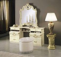 Camel Barocco Ivory Italian Vanity Dresser