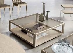 Camel Elite Day Sand Birch Italian Maxi Coffee Table