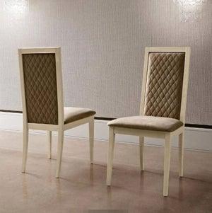 Camel Elite Day Sand Birch Italian Roma Rombi Dining Chair (Pair)