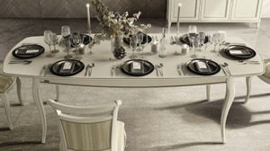 Camel Giotto Day Bianco Antico Italian Extending 200cm Dining Table