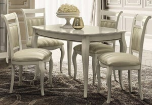 Camel Giotto Day Bianco Antico Italian Extending Dining Table