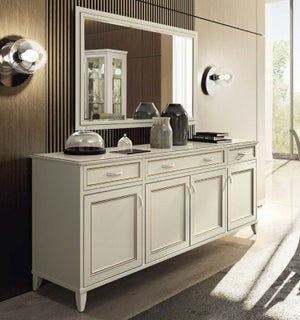 Camel Giotto Day Bianco Antico Italian Large Buffet Sideboard