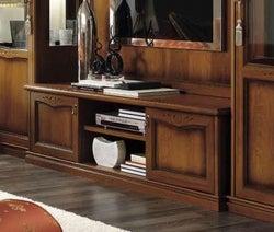 Camel Nostalgia Day Walnut Italian Large TV Cabinet