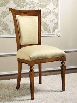 Camel Torriani Day Walnut Italian Dining Chair