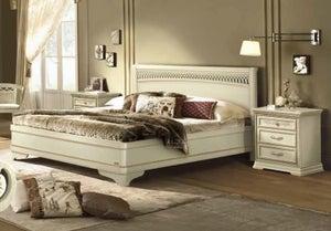 Camel Torriani Night Ivory Tiziano Italian Ring Bed