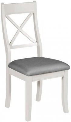 Berkeley Grey Painted Bedroom Chair