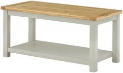 Clearance - Portland Stone Painted Coffee Table - New - E-244