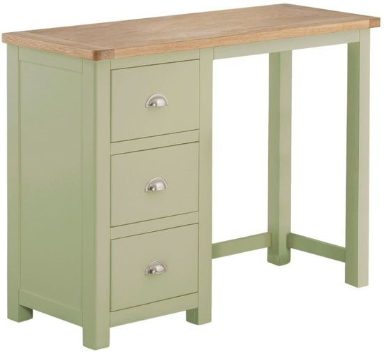 Clearance - Portland Grey Painted Dressing Table - New - E-709