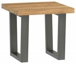 Fusion Oak Lamp Table