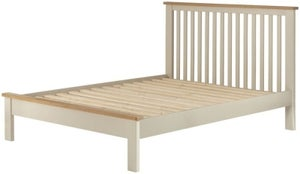 Portland Cream Painted Slatted Bed