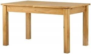 Portland Oak 140cm-180cm Draw Leaf Extending Dining Table