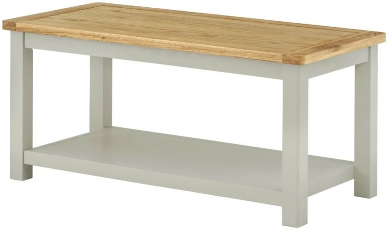 Portland Stone Painted Coffee Table