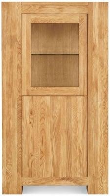 Clemence Richard Massive Oak Small Display Cabinet