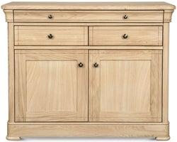 Clemence Richard Moreno Oak 2 Door 3 Drawer Medium Sideboard