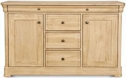 Clemence Richard Moreno Oak 2 Door 4 Drawer Wide Sideboard