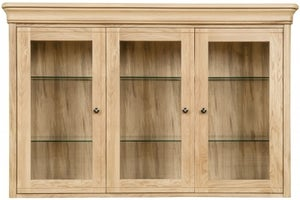 Clemence Richard Moreno Oak 3 Door Large Sideboard Top